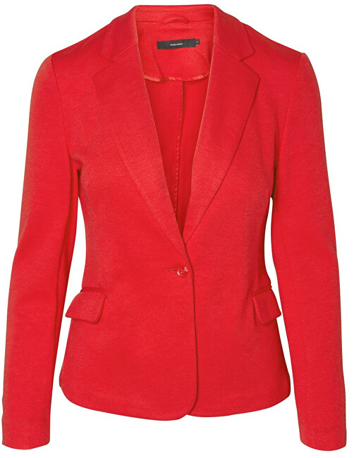 Vero Moda Blazer pentru femei VMJULIA LS BLAZER DNM COLOR Chinese Red 36