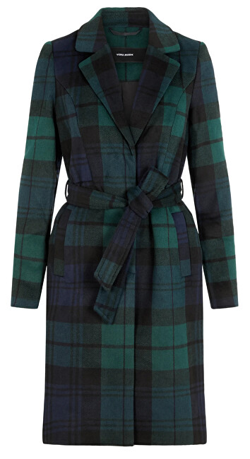 Vero Moda Palton pentru femei VMCINDY BELT 3/4 JACKET BOOS Ponderosa Pine XS