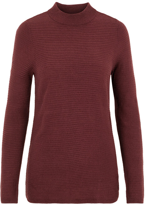 Vero Moda Dámsky sveter VMBOBBIE LS Highneck Blouse COLOR Port Royale S