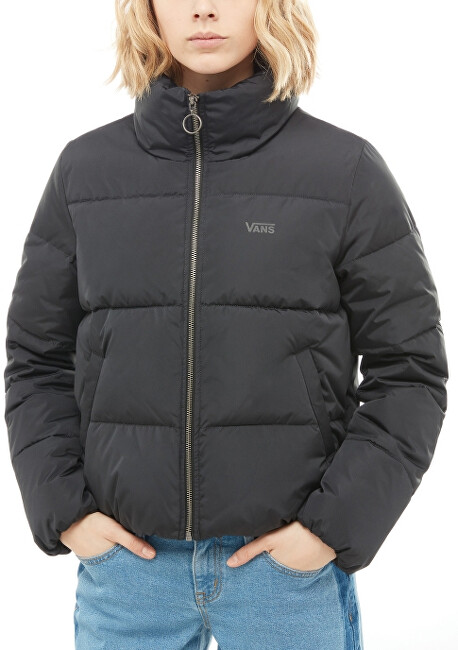 VANS Dámska bunda Foundry Puffer Jacket Black VN0A3PDLBLK1 L