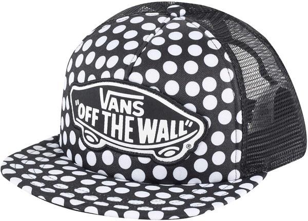 VANS Dámská černo-bílá kšiltovka s puntíky Beach Girl Trucker Hat V00H5LM9A 7123f674e7