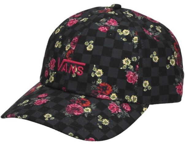VANS Dámská kšiltovka Court Side Printed Hat Botanical Check VN0A34GRUWX1