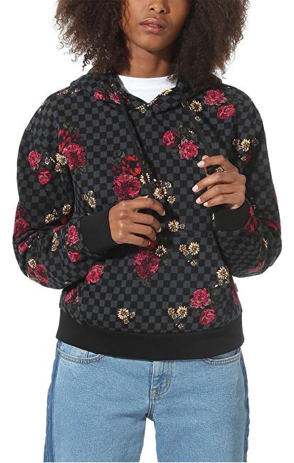 VANS Hanorac pentru femei Botanical Check Crop Hoodie Botanical Check VN0A47TLUWX1 L
