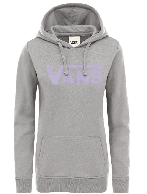 VANS Dámska mikina Flying V Classic Hoodie Grey Heather VN0A3UMPGRH1 M
