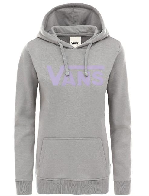 VANS Hanorac pentru femei Flying V Classic Hoodie Grey Heather VN0A3UMPGRH1 M