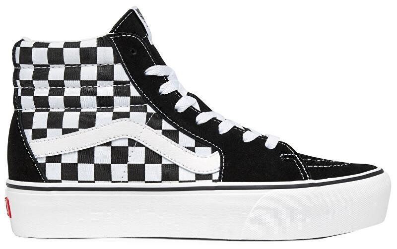 VANS Női boka tornacipőUA SK8-Hi Platform 2.0 Checkerboard/True White VN0A3TKNQXH1 36