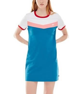 VANS Rochii pentru femei Invert Dress Blue Sapphire VN0A3UNGUUC1 M