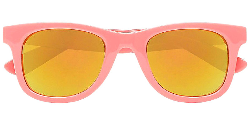 VANS Femei ochelari de soare Janelle Hipster Sunglasses Strawberry Pink VN000VXLUV61