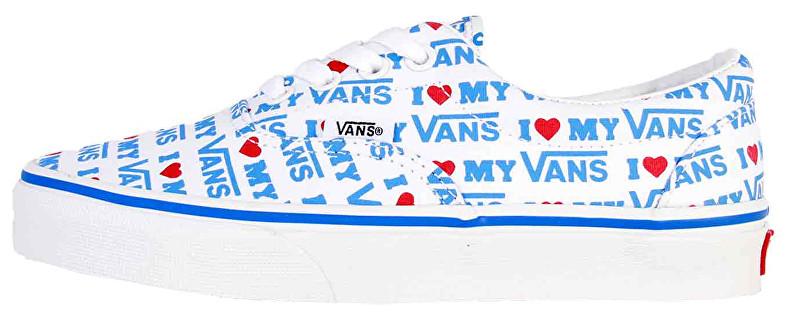 VANS Era (I Heart Vans) True White VN0A38FRVP51 Pantofi pentru femei 38