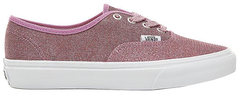 VANS Dámské tenisky UA Authentic Lurex Glitter Pink True White VA38EMU3U 36 41e2706d15b