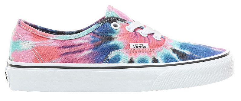 VANS Adidasi UA Authentic (Tie Dye) Multi/True Whit 38