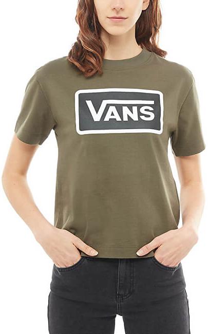 VANS Dámske tričko Boom Boom Boxy Grape Leaf VA3PFFKCZ L