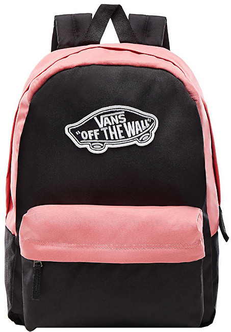VANS Dámsky batoh Realm Backpack Black/Desert Rose VA3UI6YGI