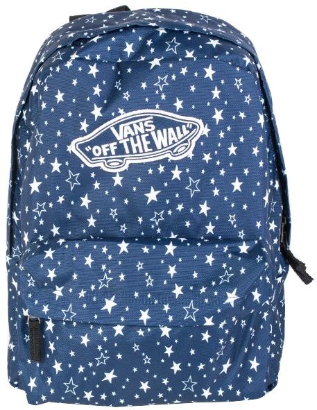VANS Dámsky batoh Realm Backpack Medieval Blue VA3UI6RCJ