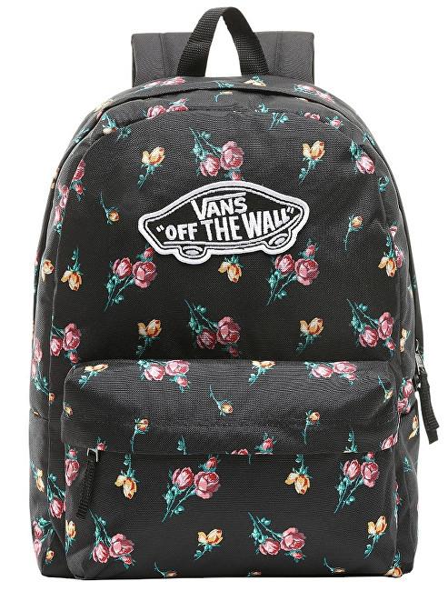d1199515f80 VANS Dámský batoh Realm Backpack Satin Floral VN0A3UI6UV31