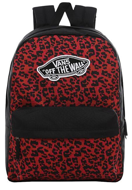 VANS Dámsky batoh Realm Backpack Wild Leopard VN0A3UI6UY11