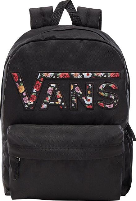 VANS Dámský batoh Wm Realm Flying V Backpack Black/Miched Floral VN0A3UI8YGL1