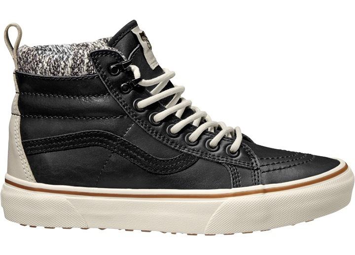 VANS Členkové topánky SK8-Hi Mte Black / Marshmallow VA33TXI28 39