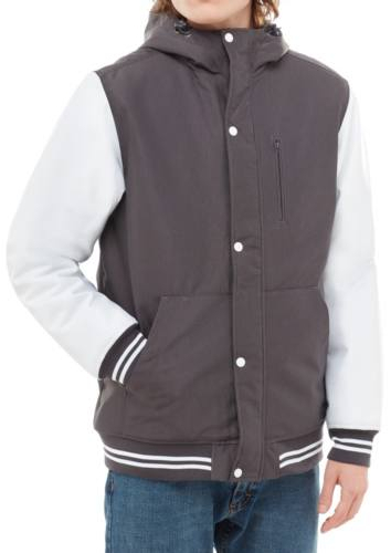 VANS Bărbați jacheta Fieldbrook Mte Asphalt/White VA3HP8RP9 M