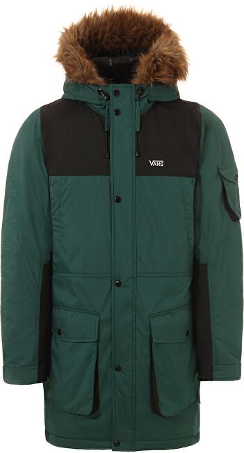 VANS Pánska bunda Sholes Mte Vans Trek king Green / Black VN0A457TTRY1 L