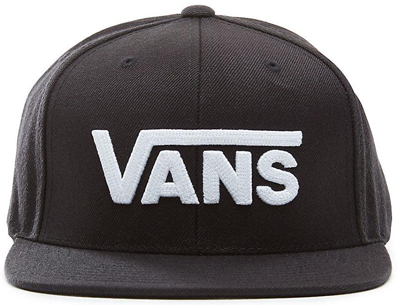 VANS Men´s cap Drop V II Snapback Black/White VA36ORY28