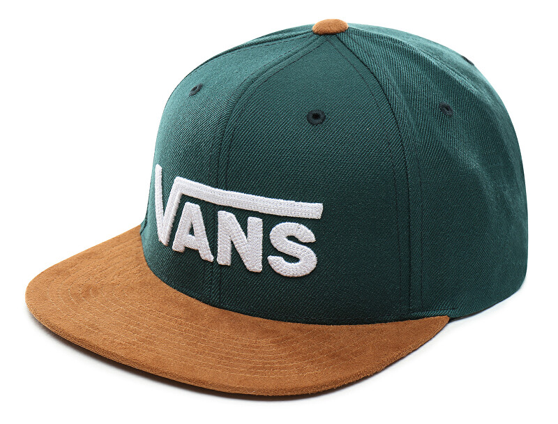 VANS Pánská kšiltovka Drop V II Snapback Vans Trekking Green/Khaki VN0A36ORTRZ1