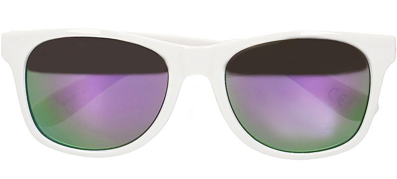 VANS Ochelari de soare pentru barbati Spicoli 4 Shades White/Lapis Blue VN000LC0TJG1