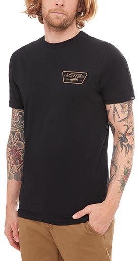 VANS Pánske tričko Full Patch Black Dirt VA3H5KRQ1 L 8ae110fd70
