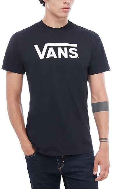 VANS Pánske tričko Vans Classic Black/White VN000GGGY281 XXL