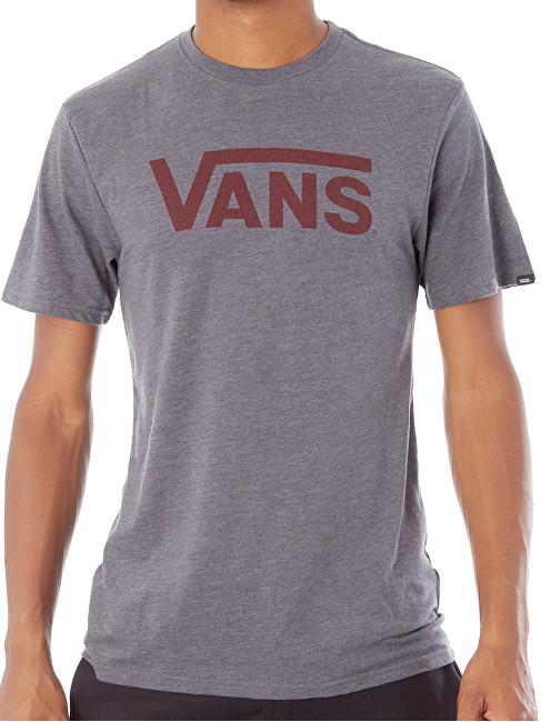 VANS Pánske tričko Vans Classic Heather Asphalt V000UMO8W S a021a6c1960