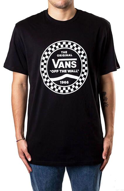 VANS Pánske tričko Vans Side Stripe S / S Black VN0A468VBLK1 S