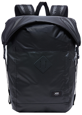 VANS Pánský batoh Fend Roll Top Backpack Black VA36YJBLK f1438c08fa