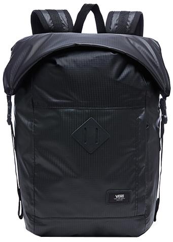 VANS Pánský batoh Fend Roll Top Backpack Black VA36YJBLK f1438c08fa