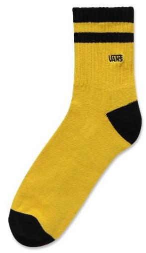 VANS Ponožky Vans Half Crew Sulphur/Black VN0A3I3FHBO1 42,5-47