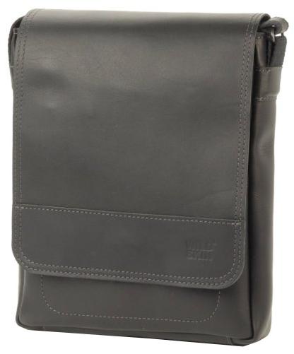 Wildskin Kožená taška touch - Crazy černá