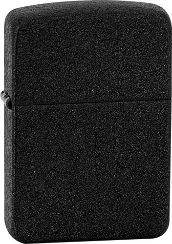 Zippo Benzínový zapaľovač 1941 Black Crackle ™ 26601