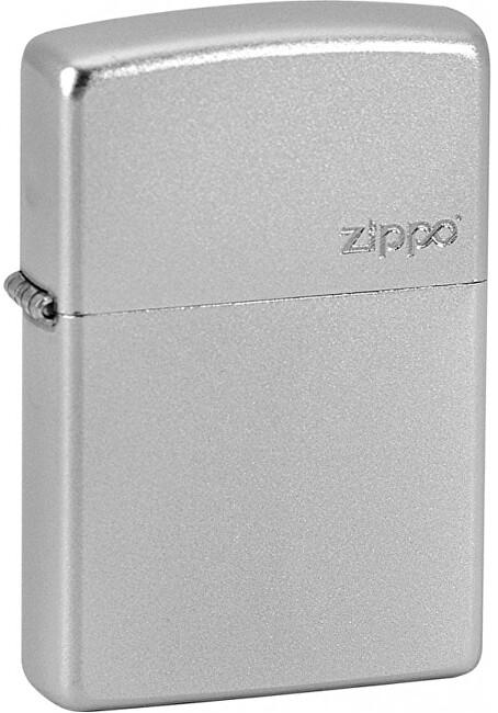 Zippo Benzínový zapaľovač Zippo Satin Chrome 20340