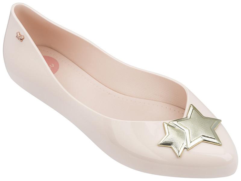 Zaxy Femeie Ballerina Chic Fem 82297-52358 Beige / Gold 38