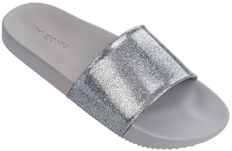 Zaxy Doamnelor slip Snap Slide Glitter Fem 82440-90542 Glitter Silver 39