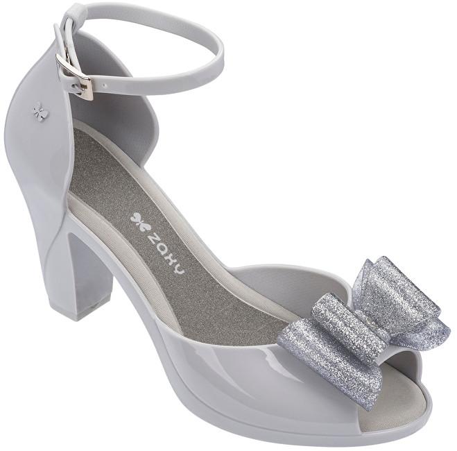 0981304a7b234 Zaxy Dámske sandále Diva Top Sandal Fem 82442-50802 Grey/Silver 37