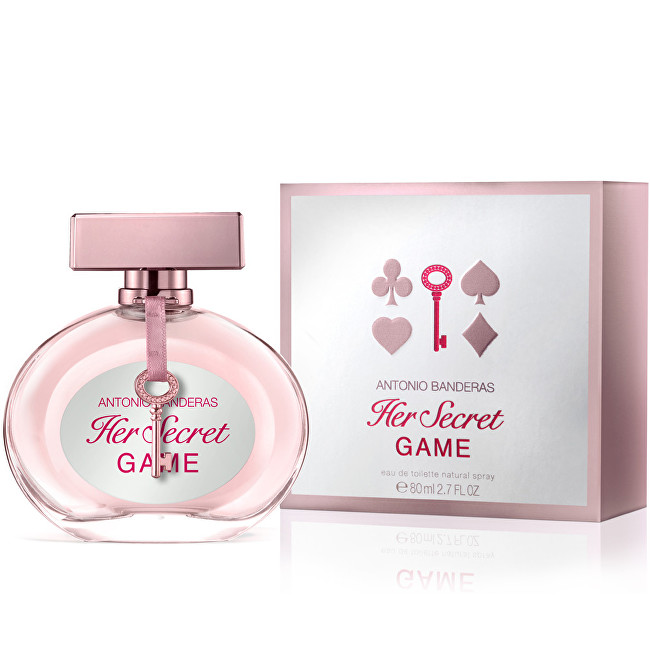 Antonio Banderas Her Secret Game - EDT 80 ml