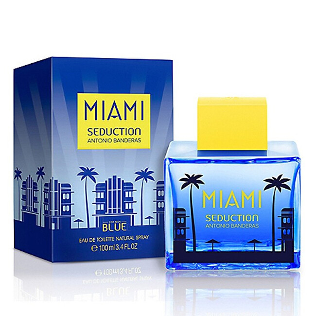 Antonio Banderas Miami Seduction For Men - EDT 100 ml
