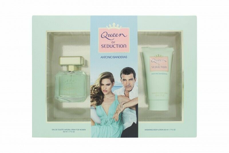 Antonio Banderas Queen of Seduction - EDT 50 ml   tělové mléko 50 ml
