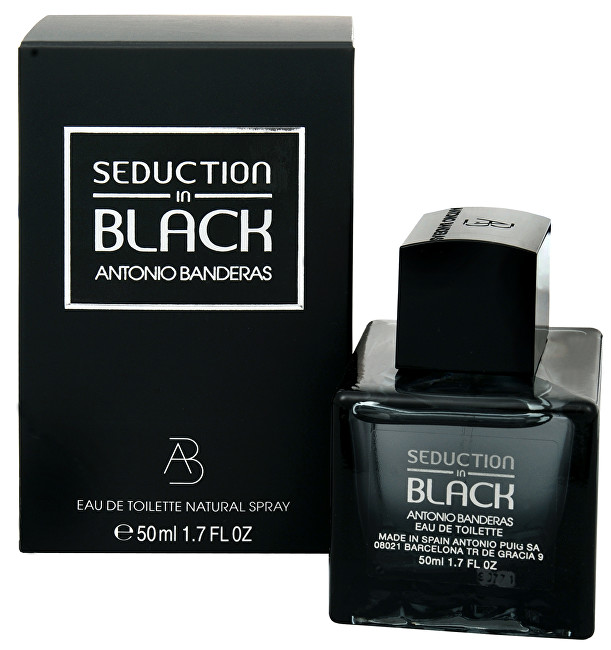 Antonio Banderas Seduction In Black toaletná voda pánska 50 ml