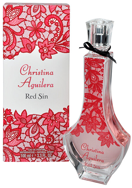 Christina Aguilera Red Sin parfumovaná voda dámska 50 ml