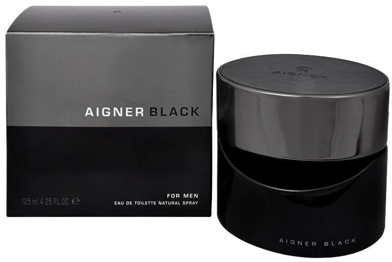 Aigner Black For Men - EDT 125 ml
