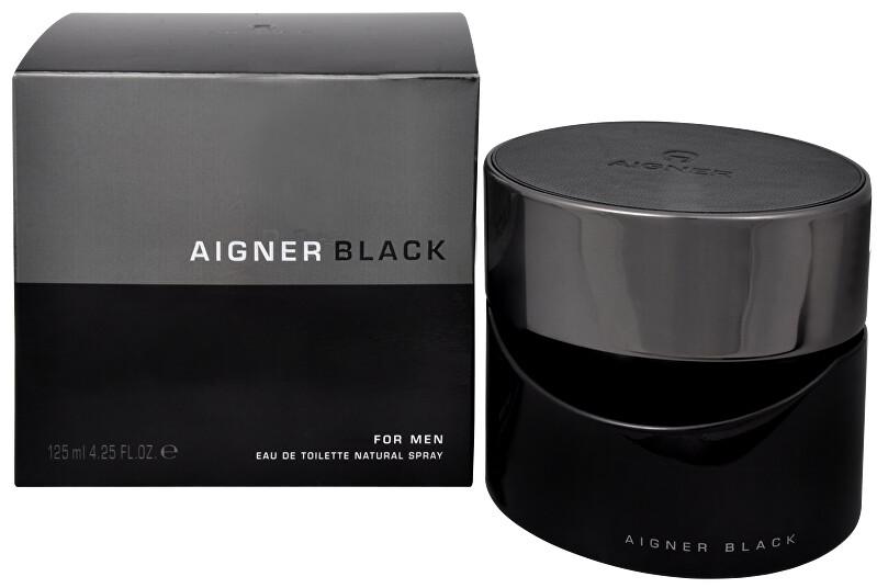 Aigner Black For Men - EDT 125 ml
