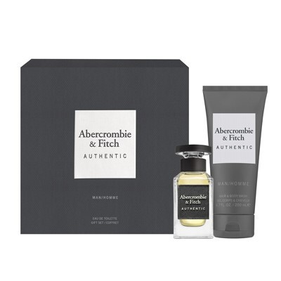 Abercrombie   Fitch Authentic Man - EDT 50 ml   sprchový gel 200 ml