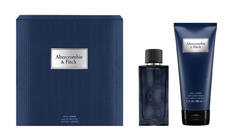 Abercrombie & Fitch First Instinct Blue - EDT 50 ml   sprchový gél 200 ml