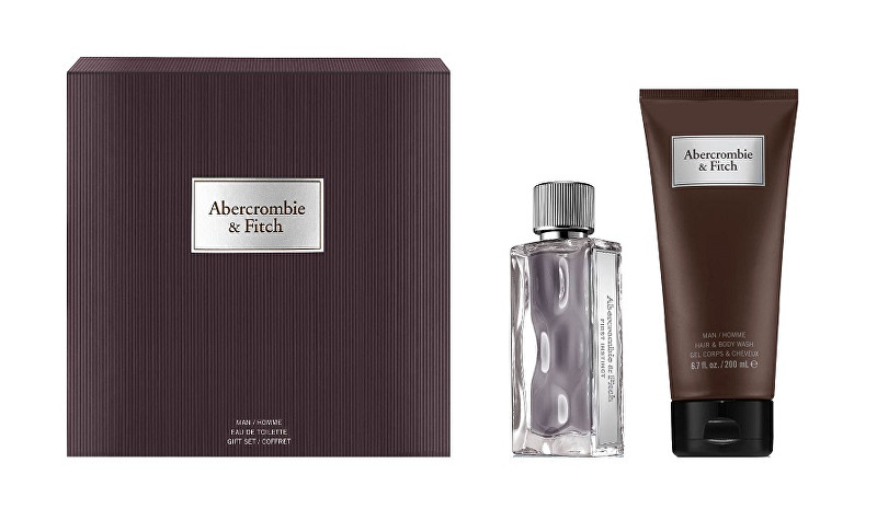 Abercrombie & Fitch First Instinct - EDT 50 ml   sprchový gél 200 ml